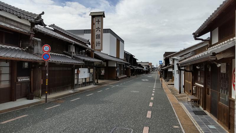 岐阜県美濃市の「うだつの上がる町並み」